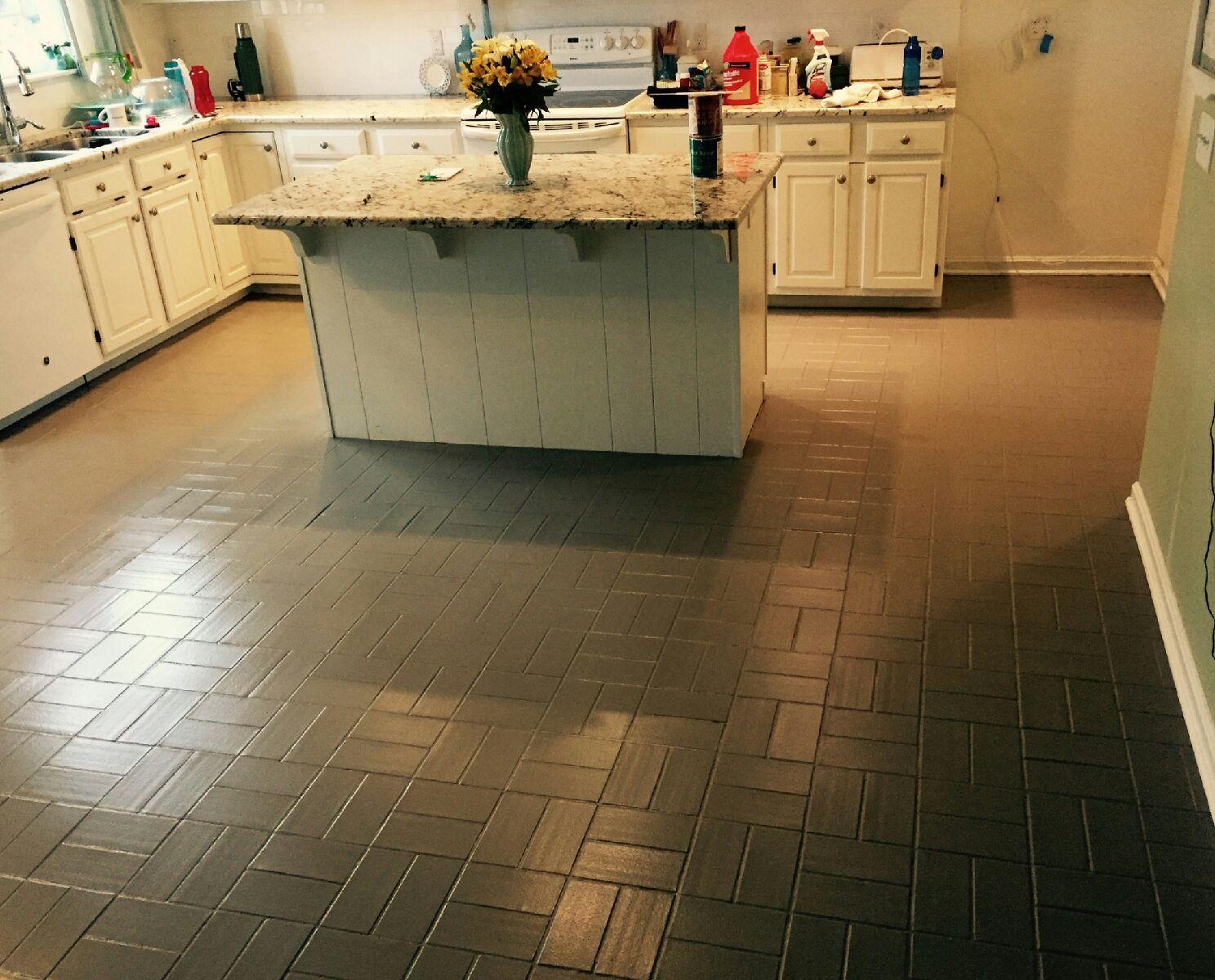 Painting floor tile ideas