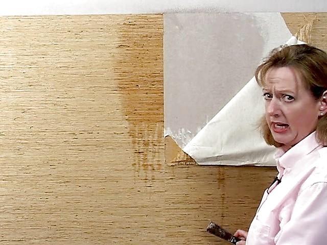 Just Add Paint Wallpaper stripping