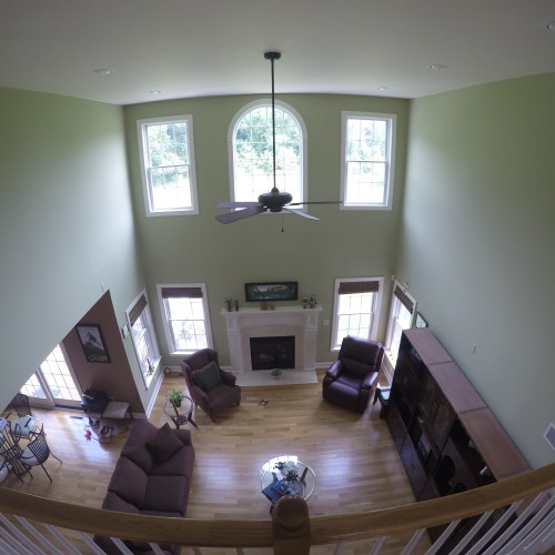 Just Add Paint 2-story living room in Mechanicsburg, PA 17055