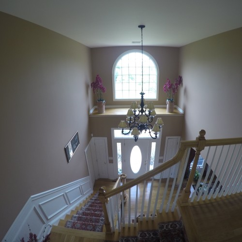 Just Add Paint 2-story foyer in Mechanicsburg, PA 17055