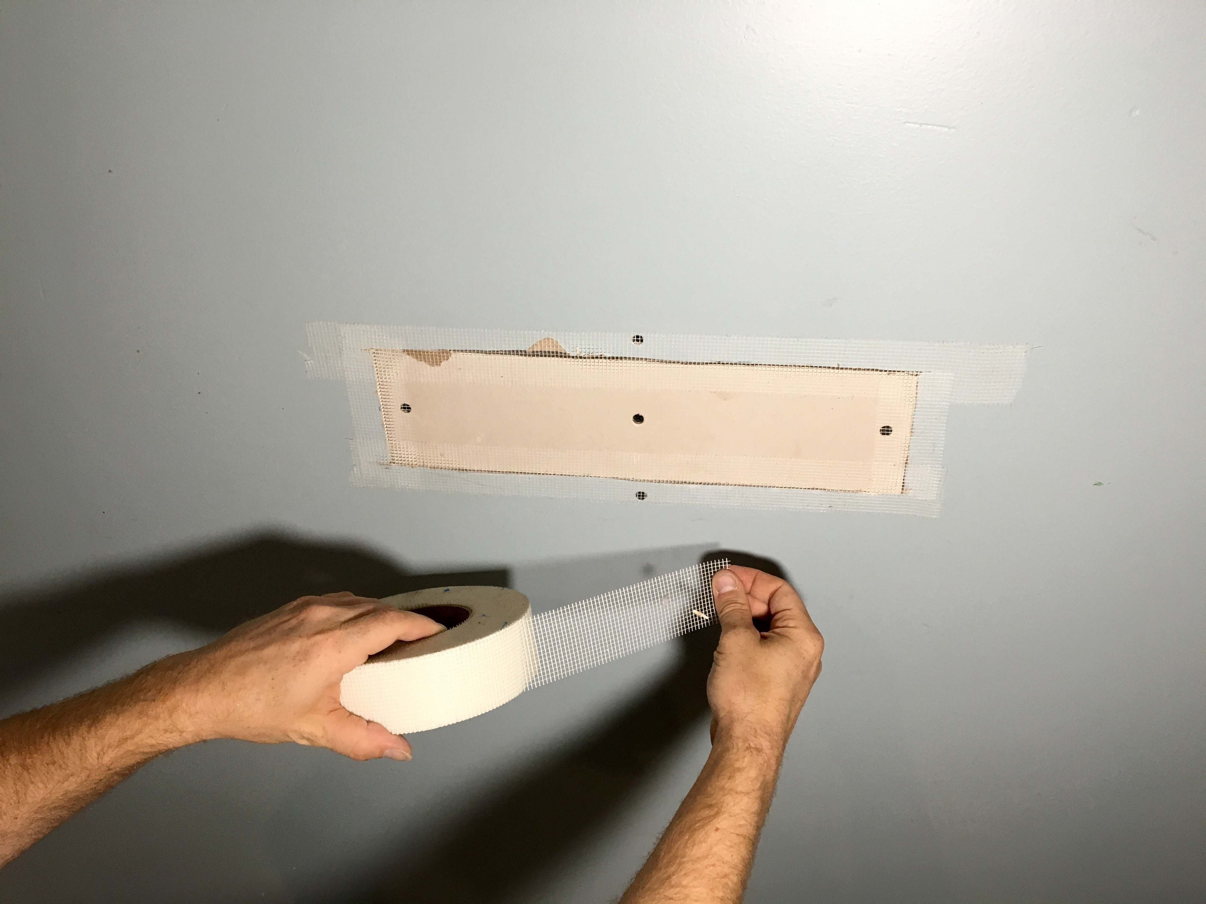 Wall Repair Made Easy How To Patch Drywall Just Add Paint