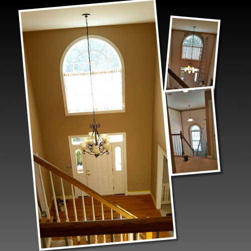 Just Add Paint Residential House Painters Mechanicsburg, PA  Open Foyer