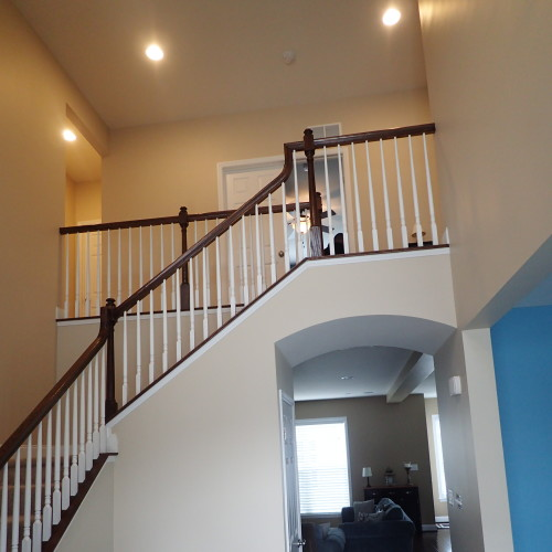 Just Add Paint Interior Painters 2-Story Open Foyer in Carlisle, PA