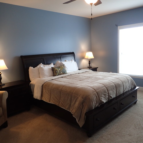 Just Add Paint Interior Painters Mechanicsburg, PA 17055 Master Bedroom. Sherwin Williams Favorite Jeans