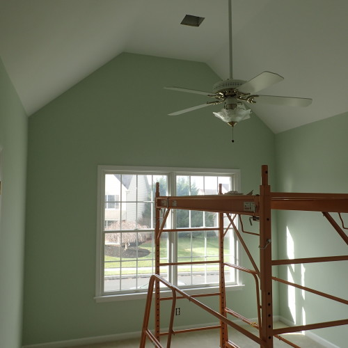 Just Add Paint interior painting bonus room Mechanicsburg, PA Benjamin Moore