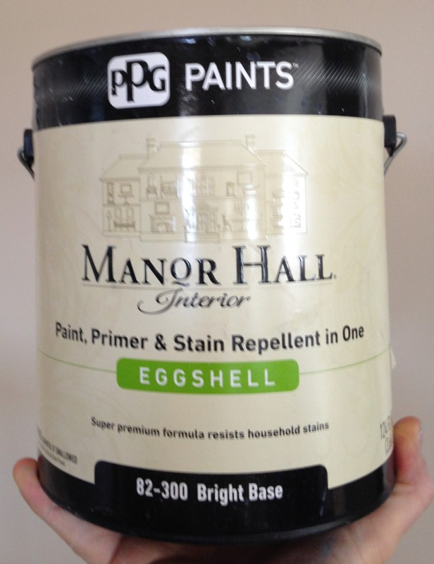 PPG Manor Hall Eggshell Paint and Primer in 1